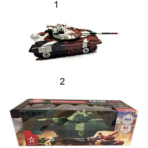 Танк р/у Властелин Небес Танковый БиатлонРадиоуправляемые танки<br>Характеристики:<br><br>• тип игрушки: танк;<br>• возраст: от 5 лет;<br>• размер: 17х15х25 см;<br>• вес: 1,2 кг;<br>• тип батареек: 4хАА;<br>• наличие батареек: в комплект не входят;<br>• материал: пластик;<br>• бренд: Властелин небес;<br>• страна бренда: Россия.<br><br>Танк р/у «Властелин Небес» Танковый Биатлон  является моделью боевого танка СССР, который был принят на вооружение с 1973 года и производился по 2005 г. Боевая масса 41 тонна, и он развивает скорость 60 км/ч. Танк производился в нескольких странах мира. Модель хорошо проработана и детализирована. В комплекте идет пульт управления, электронная мишень, аккумулятор с зарядным устройством, инструкция.<br><br> Полное пропорциональное управление танка: вперед, назад, повороты вправо и влево, разворот вокруг своей оси. Разворот башни танка на 180?, звуковые эффекты стрельбы, свет передних и задних прожекторов. Зарядка аккумулятора для танка от сети 220V. Комплектация: танк в сбое, пульт управления, электронная мишень, аккумулятор с зарядным устройством, инструкция на русском языке.<br><br>Танк р/у «Властелин Небес» Танковый Биатлон можно купить в нашем интернет-магазине.<br>Ширина мм: 500; Глубина мм: 160; Высота мм: 190; Вес г: 1600; Возраст от месяцев: 60; Возраст до месяцев: 2147483647; Пол: Унисекс; Возраст: Детский; SKU: 7502328;