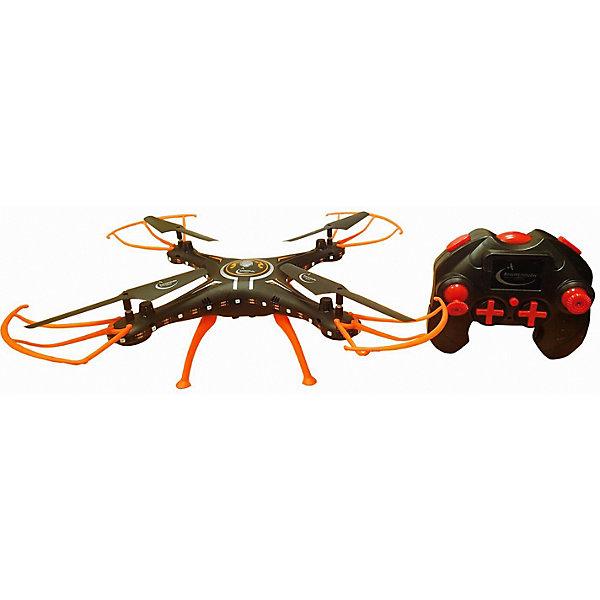 Квадрокоптер Властелин Небес СалютКвадрокоптеры<br>Характеристики:<br><br>• тип игрушки: квадракоптер;<br>• возраст: от 12 лет;<br>• размер: 53х12х36 см;<br>• вес: 680 гр<br>• тип батареек: AA / LR6 1.5V (пальчиковые);<br>• наличие батареек: в комплект не входят;<br>• дальность действия: 30-70 м;<br>• комплект: квадрокоптер,пульт дистанционного управления;<br>• материал: пластик, металл;<br>• бренд: Властелин небес;<br>• страна бренда: Россия.<br><br>Квадрокоптер р/у Властелин Небес «Салют» оснащен 6-осевым гироскопом, прекрасной системой стабилизации и обширным функционалом, который включает функции: ONE KEY RETURN (возврат к месту взлета по нажатию кнопки) и HEADLESS (автоориентация квадрокоптера с пульта управления). Яркие светодиодные огоньки расположенные по всему периметру квадрокоптеры  включаются и выключаются нажатием кнопки.<br><br>Квадрокоптер р/у Властелин Небес «Салют» можно купить в нашем интернет-магазине.<br>Ширина мм: 80; Глубина мм: 530; Высота мм: 360; Вес г: 980; Возраст от месяцев: 144; Возраст до месяцев: 2147483647; Пол: Унисекс; Возраст: Детский; SKU: 7502331;