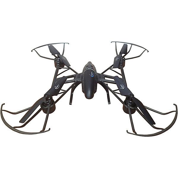 Квадрокоптер Властелин Небес «Космолёт» (черный)Квадрокоптеры<br>Характеристики:<br><br>• тип игрушки: квадракоптер;<br>• возраст: от 12 лет;<br>• размер: 33х8х49 см;<br>• вес: 930 гр;<br>• тип батареек: 4 x AA / LR6 1.5V (пальчиковые);<br>• дальность полета: 30-70 м;<br>• наличие батареек: в комплект не входят;<br>• комплект: квадрокоптер, пульт управления, USB для зарядки аккумулятора, шасси, запасные винты, отвертка;<br>• материал: пластик, металл;<br>• бренд: Властелин небес;<br>• страна бренда: Россия.<br><br>Квадрокоптер р/у Властелин Небес «Космолёт», черный станет прекрасным подарком для всех поклонников радиоуправляемой техники и подарит своему обладателю массу положительных эмоций от игры на улице или дома. <br><br>С помощью удобного пульта управления ребенок сможет выполнять различные маневры и регулировать скорость полета квадрокоптера, а также возвращать его к месту старта одним нажатием кнопки. Дальность действия пульта составляет 30-70 метров. Высокотехнологичный 4 канальный гаджет оснащен встроенным гироскопом, который обеспечивает плавный ход и отличное управление. Во время движения у квадрокоптера горят огоньки, что добавляет полету еще больше зрелищности.<br><br>Квадрокоптер р/у Властелин Небес «Космолёт», черный можно купить в нашем интернет-магазине.<br>Ширина мм: 340; Глубина мм: 80; Высота мм: 490; Вес г: 930; Возраст от месяцев: 144; Возраст до месяцев: 2147483647; Пол: Унисекс; Возраст: Детский; SKU: 7502339;