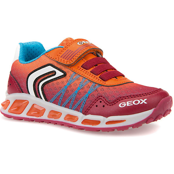 GEOX Кроссовки GEOX для мальчика geox geox кроссовки светящиеся розовые