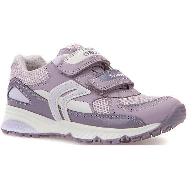 Купить Кроссовки GEOX для девочки, Мьянма, фиолетовый, Женский