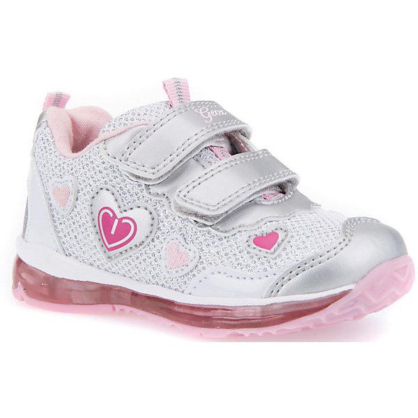 GEOX Кроссовки GEOX для девочки geox geox кроссовки светящиеся розовые