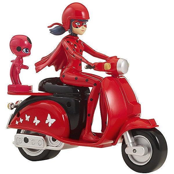 BANDAI Фигурка  Леди Баг  Супер-Кот   на скутере