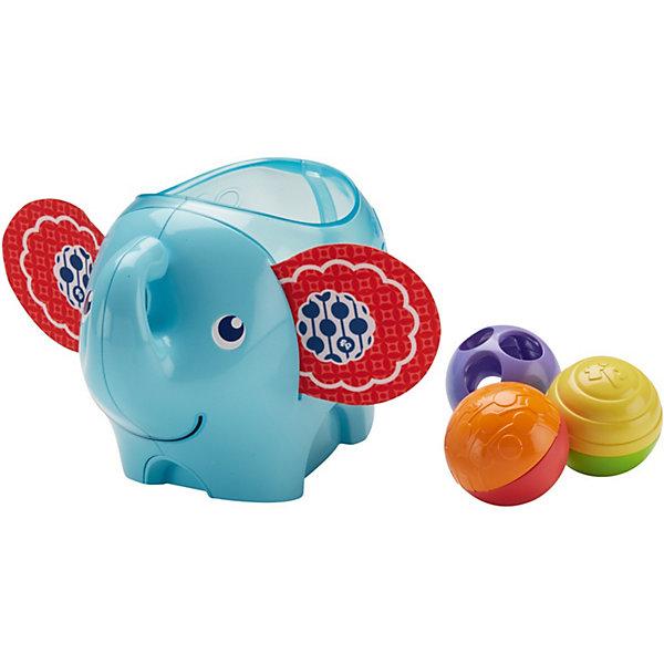 Mattel Развивающая игрушка Fisher-Price Слоник с шариками