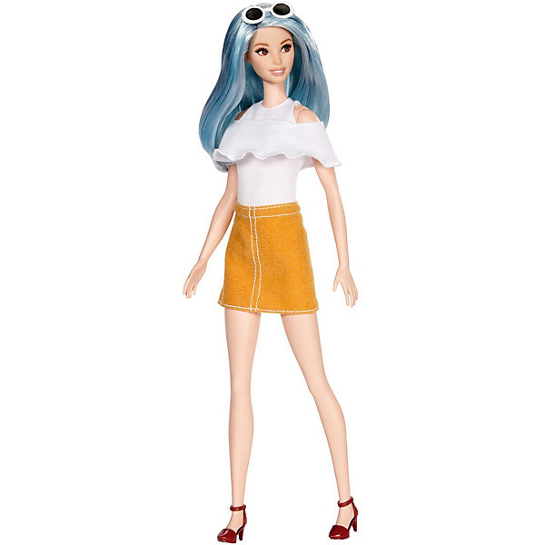 Mattel Кукла Barbie Игра с модой Голубая красота, 31 см