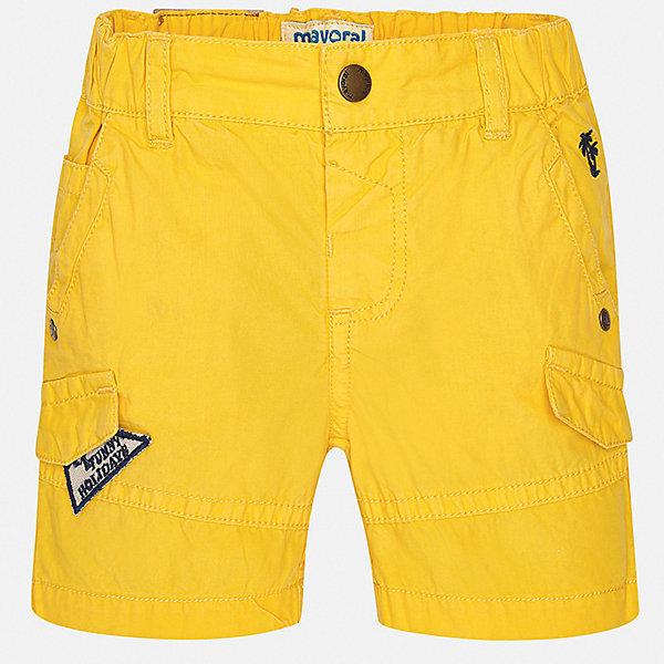 Mayoral Шорты Mayoral для мальчика шорты viaggio bambini для мальчика цвет желтый