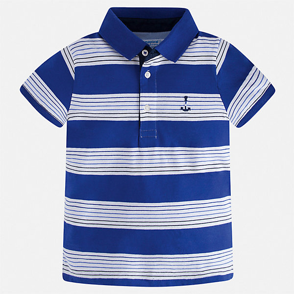 Mayoral Рубашка-поло Mayoral для мальчика поло для мальчика 999 74602 00 94z разноцветный birba