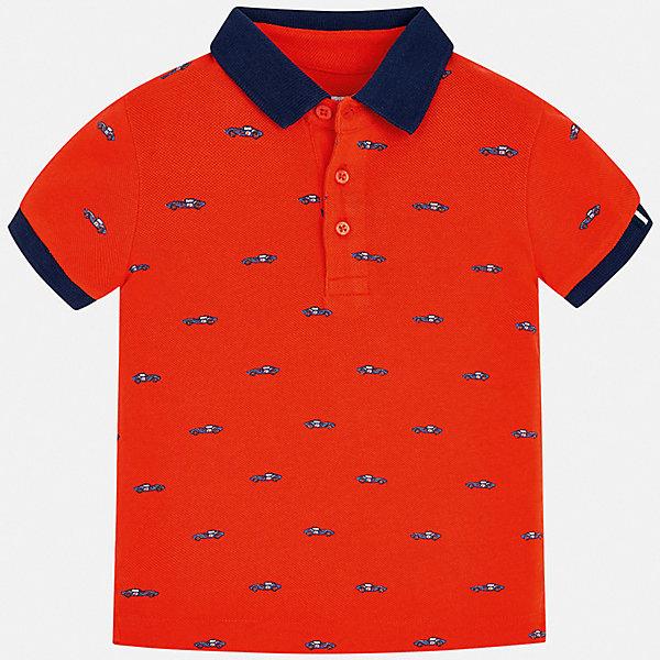 Рубашка-поло Mayoral для мальчикаФутболки, поло и топы<br>Характеристики товара:<br><br>• цвет: мульти<br>• состав ткани: 100% хлопок<br>• сезон: лето<br>• особенности модели: отложной воротник<br>• застежка: пуговицы<br>• короткие рукава<br>• страна бренда: Испания<br>• стиль и качество <br><br>Хлопковая футболка-поло для детей от испанской компании Mayoral - пример отличного вкуса. Модная футболка-поло для мальчика от Mayoral отличается высоким качеством исполнения. Стильная детская футболка-поло сделана из натуральной хлопковой ткани. <br><br>Футболку-поло Mayoral (Майорал) для мальчика можно купить в нашем интернет-магазине.<br>Ширина мм: 174; Глубина мм: 10; Высота мм: 169; Вес г: 157; Цвет: бежевый; Возраст от месяцев: 18; Возраст до месяцев: 24; Пол: Мужской; Возраст: Детский; Размер: 92,134,128,122,116,110,104,98; SKU: 7539671;