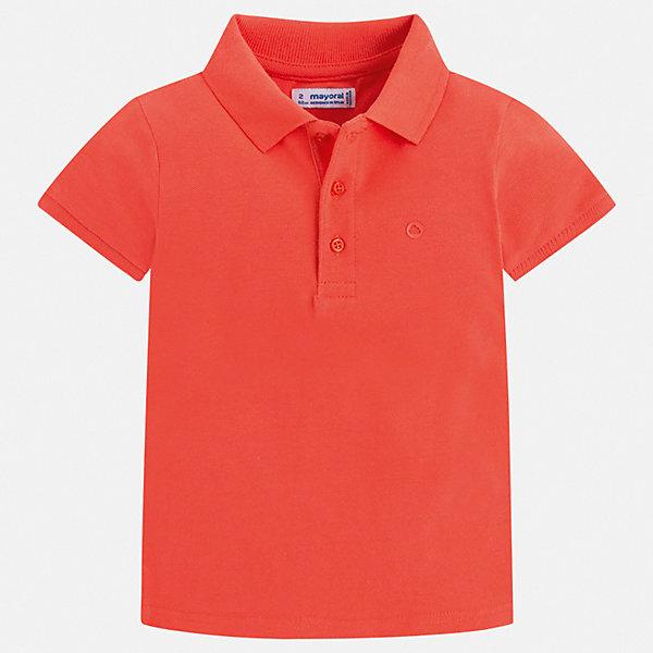 Футболка-поло Mayoral для мальчикаФутболки, поло и топы<br>Характеристики товара:<br><br>• цвет: красный<br>• состав ткани: 100% хлопок<br>• сезон: лето<br>• особенности модели: отложной воротник<br>• застежка: пуговицы<br>• короткие рукава<br>• страна бренда: Испания<br>• стиль и качество <br><br>Стильная хлопковая футболка-поло для мальчика от Майорал поможет обеспечить ребенку комфорт. Детская футболка-поло отличается стильным и продуманным дизайном. В футболке-поло для мальчика от испанской компании Майорал ребенок будет выглядеть модно, а чувствовать себя - комфортно. <br><br>Футболку-поло Mayoral (Майорал) для мальчика можно купить в нашем интернет-магазине.<br>Ширина мм: 174; Глубина мм: 10; Высота мм: 169; Вес г: 157; Цвет: бежевый; Возраст от месяцев: 18; Возраст до месяцев: 24; Пол: Мужской; Возраст: Детский; Размер: 92,134,128,122,116,110,104,98; SKU: 7541148;