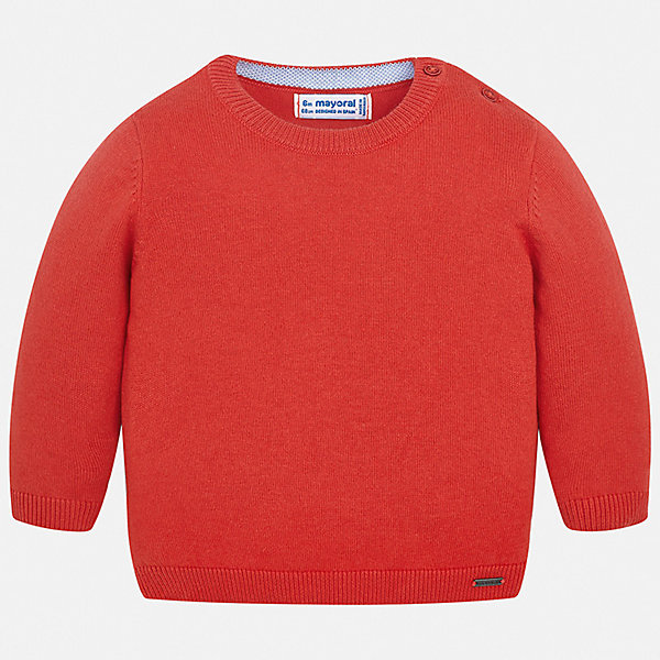 Свитер Mayoral для мальчикаСвитера и кардиганы<br>Характеристики товара:<br><br>• цвет: красный<br>• состав ткани: 82% хлопок, 18% полиамид<br>• сезон: демисезон<br>• застежка: пуговицы<br>• длинные рукава<br>• страна бренда: Испания<br>• стиль и качество<br><br>Этот свитер для мальчика Mayoral удобно сидит по фигуре. Яркий детский свитер сделан из приятного на ощупь материала. Отличный способ обеспечить ребенку комфорт и аккуратный внешний вид - надеть детский свитер от Mayoral. Свитер для мальчика украшен оригинальным декором. <br><br>Свитер Mayoral (Майорал) для мальчика можно купить в нашем интернет-магазине.<br>Ширина мм: 190; Глубина мм: 74; Высота мм: 229; Вес г: 236; Цвет: бордовый; Возраст от месяцев: 6; Возраст до месяцев: 9; Пол: Мужской; Возраст: Детский; Размер: 74,98,92,86,80; SKU: 7541476;