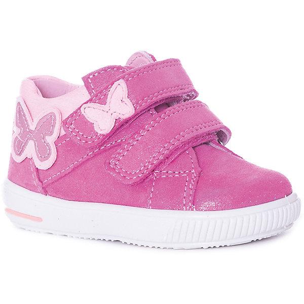 Купить Ботинки Superfit для девочки, Индия, розовый, 19, 28, 27, 26, 25, 24, 23, 22, 21, 20, Женский