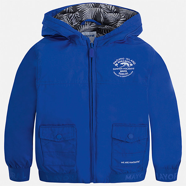 Толстовка Mayoral для мальчикаТолстовки<br>Характеристики товара:<br><br>• цвет: синий<br>• состав ткани: 100% полиэстер<br>• подкладка: 100% полиэстер<br>• утеплитель: нет<br>• сезон: демисезон<br>• особенности куртки: с капюшоном<br>• застежка: молния<br>• страна бренда: Испания<br>• неповторимый стиль Mayoral<br><br>Легкая ветровка для мальчика от Майорал поможет обеспечить ребенку комфорт и тепло. В куртке для мальчика от испанской компании Майорал ребенок будет выглядеть модно, а чувствовать себя - комфортно. Детская куртка отличается модным и продуманным дизайном. <br><br>Куртку Mayoral (Майорал) для мальчика можно купить в нашем интернет-магазине.<br>Ширина мм: 356; Глубина мм: 10; Высота мм: 245; Вес г: 519; Цвет: разноцветный; Возраст от месяцев: 18; Возраст до месяцев: 24; Пол: Мужской; Возраст: Детский; Размер: 134,128,92,122,116,110,104,98; SKU: 7542853;