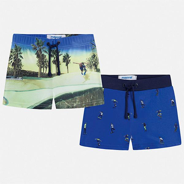 Фотография товара комплект:2 пары купальных плавок Mayoral для мальчика (7543496)