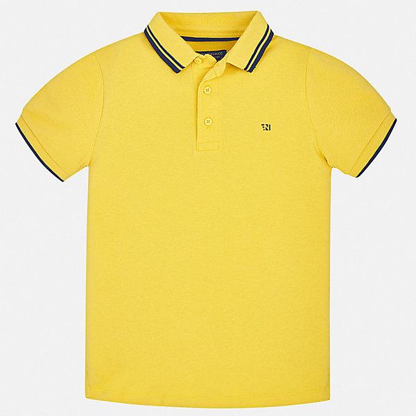 Mayoral Футболка Mayoral для мальчика mayoral футболка поло желтая