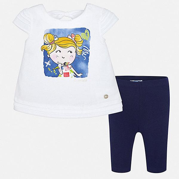 Mayoral Комплект: блузка и леггинсы для девочки