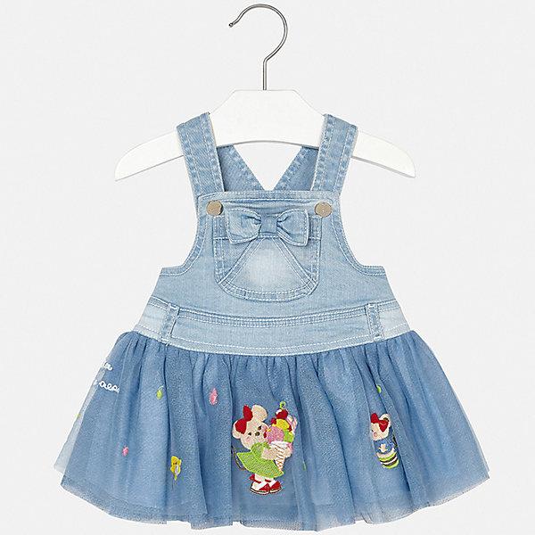 Фото - Mayoral Сарафан Mayoral для девочки юбка для девочки artie цвет голубой au 141d размер 68