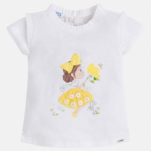 Фотография товара футболка Mayoral для девочки (7546353)