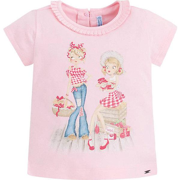 Фотография товара футболка Mayoral для девочки (7546506)