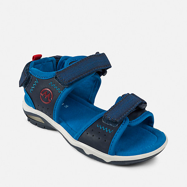 Mayoral Сандалии Mayoral для мальчика сандалии для мальчика bottilini цвет синий голубой so 096 8 размер 21 22 5