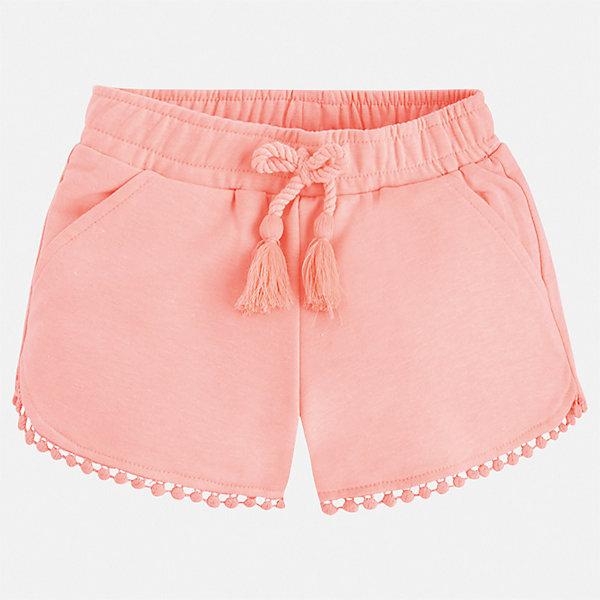 Шорты Mayoral для девочкиШорты, бриджи, капри<br>Характеристики товара:<br><br>• цвет: розовый<br>• состав ткани: 62% полиэстер, 33% хлопок, 5% эластан<br>• сезон: лето<br>• пояс: шнурок, резинка<br>• страна бренда: Испания<br>• неповторимый стиль Mayoral<br><br>Легкие шорты для девочки от Майорал помогут обеспечить ребенку комфорт. Такие детские шорты отличаются современным дизайном. В шортах для девочки от испанской компании Майорал ребенок будет выглядеть модно, а чувствовать себя - комфортно. <br><br>Шорты Mayoral (Майорал) для девочки можно купить в нашем интернет-магазине.<br>Ширина мм: 191; Глубина мм: 10; Высота мм: 175; Вес г: 273; Цвет: оранжевый; Возраст от месяцев: 18; Возраст до месяцев: 24; Пол: Женский; Возраст: Детский; Размер: 92,134,128,122,116,110,104,98; SKU: 7547988;
