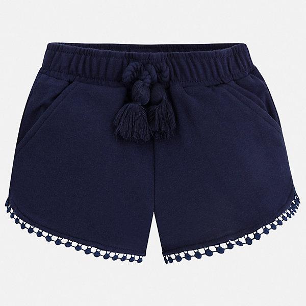 Шорты Mayoral для девочкиШорты, бриджи, капри<br>Характеристики товара:<br><br>• цвет: синий<br>• состав ткани: 62% полиэстер, 33% хлопок, 5% эластан<br>• сезон: лето<br>• пояс: шнурок, резинка<br>• страна бренда: Испания<br>• неповторимый стиль Mayoral<br><br>Эффектные шорты для девочки от Майорал помогут обеспечить ребенку комфорт. Такие детские шорты отличаются современным дизайном. В шортах для девочки от испанской компании Майорал ребенок будет выглядеть модно, а чувствовать себя - комфортно. <br><br>Шорты Mayoral (Майорал) для девочки можно купить в нашем интернет-магазине.<br>Ширина мм: 191; Глубина мм: 10; Высота мм: 175; Вес г: 273; Цвет: синий; Возраст от месяцев: 84; Возраст до месяцев: 96; Пол: Женский; Возраст: Детский; Размер: 128,92,134,122,116,110,104,98; SKU: 7548015;
