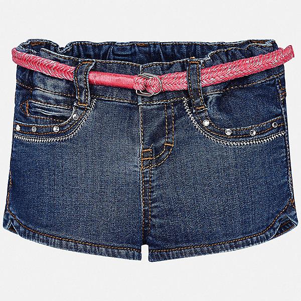 Mayoral Шорты джинсовые Mayoral для девочки шорты