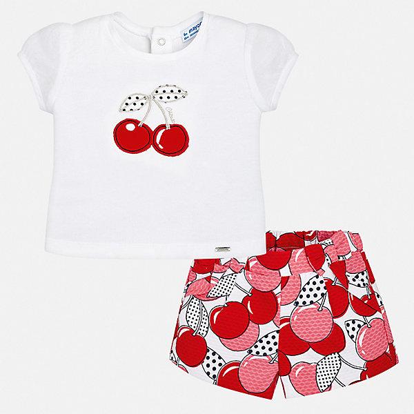 Mayoral Комплект: футболка и шорты Mayoral для девочки шорты