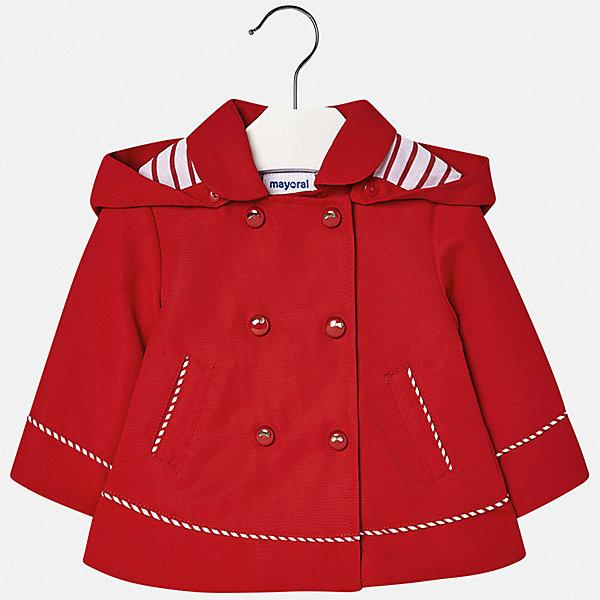 Куртка Mayoral для девочкиВерхняя одежда<br>Характеристики товара:<br><br>• цвет: мульти<br>• состав ткани: 100% полиэстер<br>• подкладка: 100% полиэстер<br>• утеплитель: нет<br>• сезон: демисезон<br>• особенности куртки: с капюшоном<br>• застежка: кнопки<br>• страна бренда: Испания<br>• неповторимый стиль Mayoral<br><br>Детская ветровка отличается модным и продуманным дизайном. Легкая куртка для девочки от Майорал поможет обеспечить ребенку комфорт и тепло. В куртке для девочки от испанской компании Майорал ребенок сможет а чувствовать себя удобно в прохладную погоду. <br><br>Куртку Mayoral (Майорал) для девочки можно купить в нашем интернет-магазине.<br>Ширина мм: 356; Глубина мм: 10; Высота мм: 245; Вес г: 519; Цвет: красный; Возраст от месяцев: 6; Возраст до месяцев: 9; Пол: Женский; Возраст: Детский; Размер: 74,98,92,86,80; SKU: 7548364;