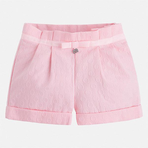 Mayoral Шорты Mayoral для девочки mayoral mayoral брюки стрейч светло розовые