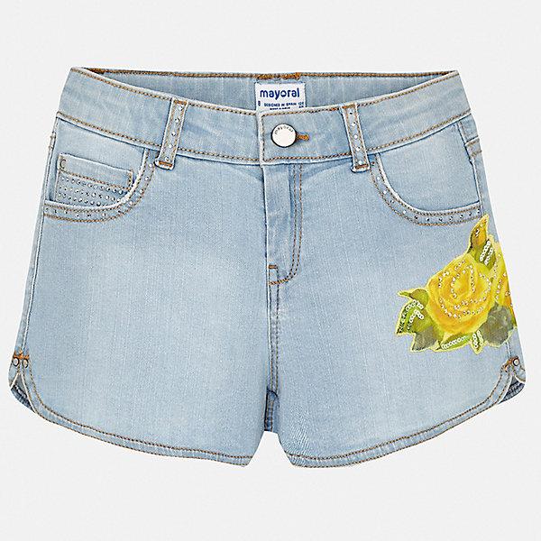 Mayoral Шорты Mayoral для девочки mayoral шорты джинсовые синие