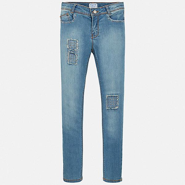 Mayoral Джинсы Mayoral для девочки mayoral джинсы mayoral для девочки
