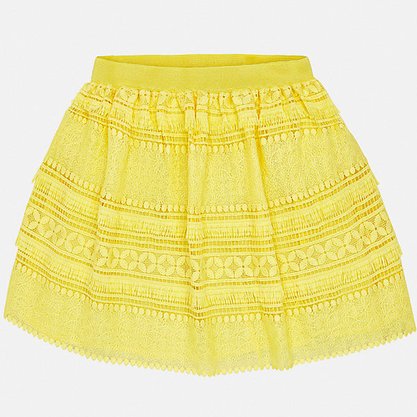 Юбка Mayoral для девочкиЮбки<br>Характеристики товара:<br><br>• цвет: желтый<br>• состав ткани верха: 100% полиэстер<br>• подкладка: 100% вискоза<br>• сезон: круглый год<br>• особенности модели: нарядная<br>• талия: резинка<br>• страна бренда: Испания<br>• стиль и качество Mayoral<br><br>Оригинальная детская юбка - отличный вариант основы для эффектного наряда. Такая юбка для девочки сделана из качественного легкого материала, отлично держащего форму и цвет. Удобная детская юбка от известного бренда Майорал выглядит очень модно.<br><br>Юбку для девочки Mayoral (Майорал) можно купить в нашем интернет-магазине.<br>Ширина мм: 207; Глубина мм: 10; Высота мм: 189; Вес г: 183; Цвет: желтый; Возраст от месяцев: 96; Возраст до месяцев: 108; Пол: Женский; Возраст: Детский; Размер: 128/134,140,152,158,164,170; SKU: 7552008;
