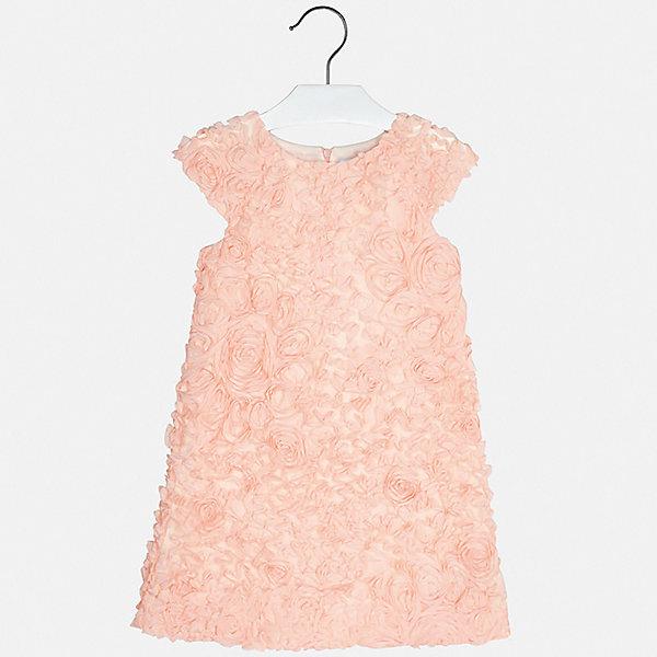 Платье Mayoral для девочкиПлатья и сарафаны<br>Характеристики товара:<br><br>• цвет: розовый<br>• состав ткани верха: 100% полиэстер<br>• подкладка: 50% полиэстер, 50% хлопок<br>• сезон: круглый год<br>• особенности модели: нарядная<br>• застежка: молния<br>• без рукавов<br>• страна бренда: Испания<br>• стиль и качество Mayoral<br><br>Нарядное детское платье сделано из качественного приятного на ощупь материала. Благодаря легкой ткани детского платья для девочки создаются комфортные условия для тела. Удобное платье для девочки отличается стильным продуманным дизайном. <br><br>Платье для девочки Mayoral (Майорал) можно купить в нашем интернет-магазине.<br>Ширина мм: 236; Глубина мм: 16; Высота мм: 184; Вес г: 177; Цвет: красный; Возраст от месяцев: 96; Возраст до месяцев: 108; Пол: Женский; Возраст: Детский; Размер: 128/134,170,164,158,152,140; SKU: 7552033;