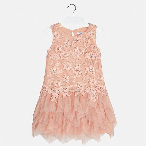 Платье Mayoral для девочкиПлатья и сарафаны<br>Характеристики товара:<br><br>• цвет: розовый<br>• состав ткани верха: 100% полиэстер<br>• подкладка: 85% полиэстер, 15% хлопок<br>• сезон: круглый год<br>• особенности модели: нарядная<br>• застежка: пуговица<br>• без рукавов<br>• страна бренда: Испания<br>• стиль и качество Mayoral<br><br>Эффектное платье для девочки от испанской компании Майорал - пример стильной и качественной одежды. Это платье для девочки от Майорал поможет обеспечить ребенку удобство. Детское платье отличается качественными фурнитурой и материалом. <br><br>Платье для девочки Mayoral (Майорал) можно купить в нашем интернет-магазине.<br>Ширина мм: 236; Глубина мм: 16; Высота мм: 184; Вес г: 177; Цвет: бежевый; Возраст от месяцев: 96; Возраст до месяцев: 108; Пол: Женский; Возраст: Детский; Размер: 128/134,170,164,158,152,140; SKU: 7552351;