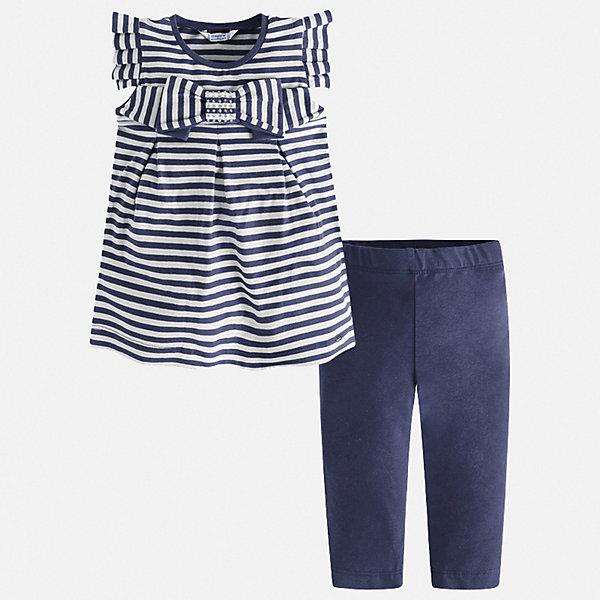 Mayoral Комплект: футболка и леггинсы Mayoral для девочки mayoral mayoral комплект одежды футболка и леггинсы синий