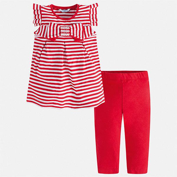 Mayoral Комплект: футболка и леггинсы Mayoral для девочки леггинсы для девушек