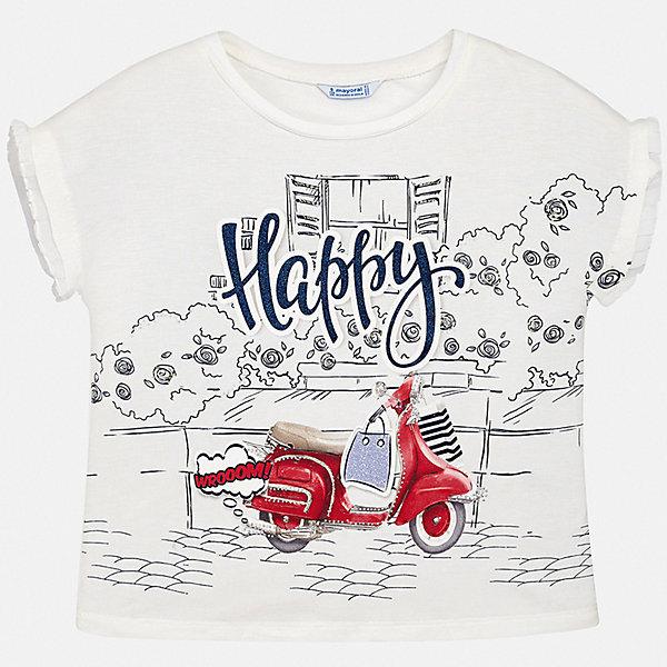 Фотография товара футболка Mayoral для девочки (7554204)