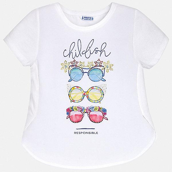 Фотография товара футболка Mayoral для девочки (7554238)