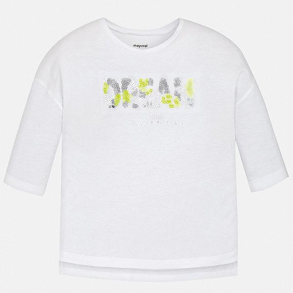Фотография товара футболка с длинным рукавом Mayoral для девочки (7554259)