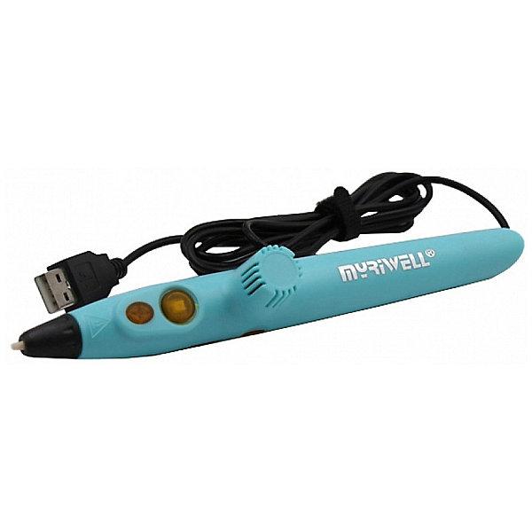 3D ручка Myriwell RP200A Hot биопластик PLA, светло-голубаяНаборы 3D ручек<br>Характеристики товара:  <br><br>• возраст: от 6 лет;<br>• материал: пластик;<br>• в комплекте: ручка, кабель USB, кейс, инструкция;<br>• тип пластика: PLA;<br>• диаметр сопла: 0,6 мм;<br>• диаметр нити: 1,75 мм;<br>• размер ручки: 17,8х2х3,6 см;<br>• вес ручки: 180 гр.;<br>• размер упаковки: 19,5х7,5х3 см;<br>• вес упаковки: 280 гр.;<br>• страна производитель: Китай.<br><br>3D ручка Myriwell RP200A светло-голубая подойдет как для детей, так и для взрослых. Работает ручка как от сети, так и от любого портативного устройства при помощи USB, что позволяет использовать ее в любом месте. <br><br>Пользоваться ручкой достаточно просто, на ее корпусе находятся всего 2 кнопки и крутящееся колесико. При помощи кнопок осуществляется загрузка и подача пластика, а колесико регулирует скорость подачи. Ручка оснащена функцией автоотключения: спустя 3 минуты после использования она отключается.<br><br>3D ручку Myriwell RP200A светло-голубую можно приобрести в нашем интернет-магазине.<br>Ширина мм: 195; Глубина мм: 75; Высота мм: 30; Вес г: 190; Возраст от месяцев: 72; Возраст до месяцев: 1188; Пол: Унисекс; Возраст: Детский; SKU: 7556126;