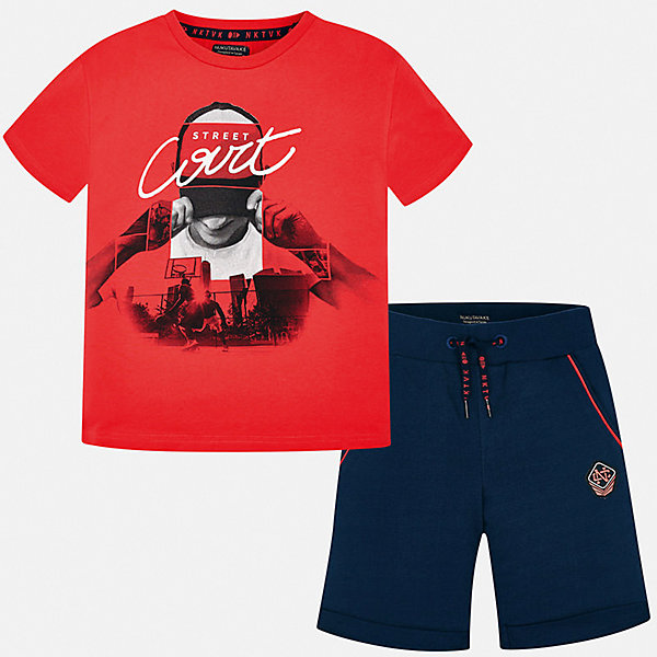 Mayoral Комплект: футболка и шорты Mayoral для мальчика