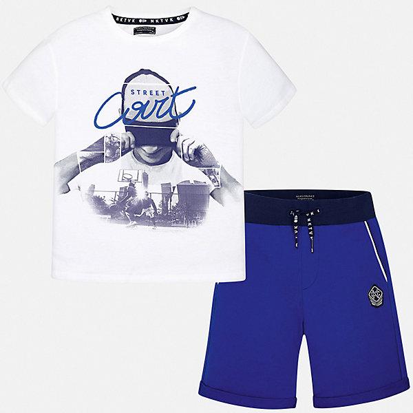 Фотография товара комплект:Футболка , шорты Mayoral для мальчика (7556700)