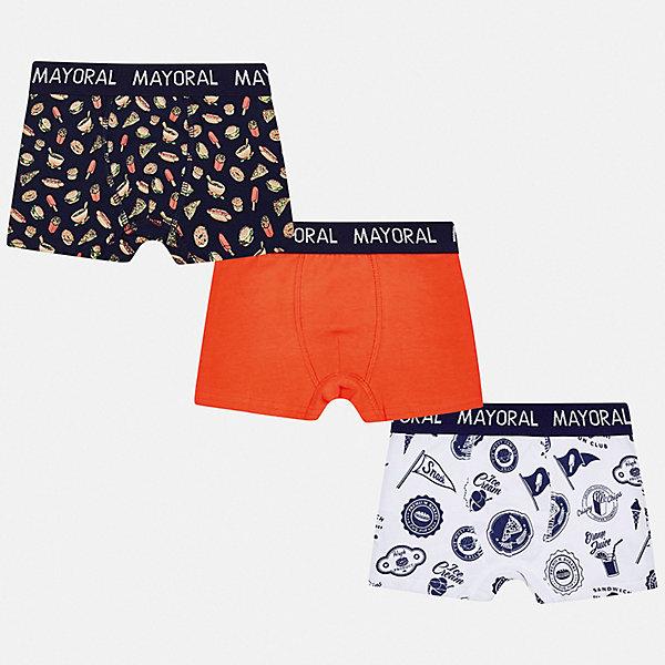 Mayoral Комплект: 3 пары трусов Mayoral для мальчика комплект из 3 трусов шортов