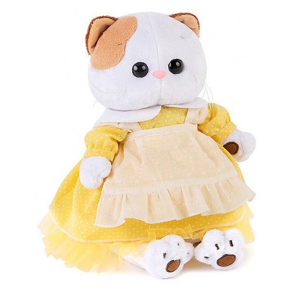 Budi Basa Мягкая игрушка Budi Basa Кошечка Ли-Ли в желтом платье с передником, 24 см