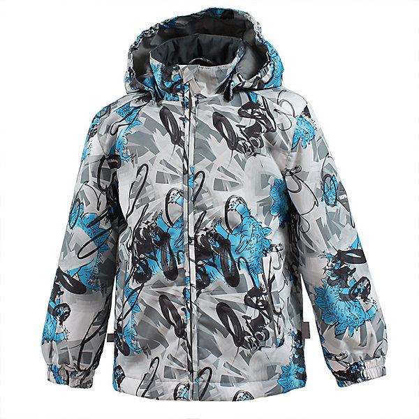 Куртка JODY HuppaВерхняя одежда<br>Характеристики товара:<br><br>• цвет: серый принт;<br>• модель: Jody;<br>• состав: 100% полиэстер;<br>• подкладка: 100% полиэстер, тафта;<br>• утеплитель: 100% полиэстер, 100 гр.;<br>• сезон: демисезон;<br>• температурный режим: от -5 до +10С;<br>• водонепроницаемость: 10000 мм ;<br>• воздухопроницаемость:10000 г/м2/24ч;<br>• застежка: молния с защитой подбородка;<br>• съёмный капюшон на кнопках;<br>• кромка капюшона на резинке;<br>• манжеты рукавов на мягкой эластичной резинке;<br>• эластичный шнур-утяжка по низу куртки;<br>• два кармана;<br>• светоотражающие детали;<br>• страна бренда: Эстония;<br>• страна изготовитель: Эстония.<br><br>Утепленная куртка на молнии обеспечит детям тепло и комфорт. Куртка с капюшоном сделана из материала, отталкивающего воду, дополнена подкладкой из тафты и утеплителем, поэтому изделие идеально подходит для межсезонья. Материал изделия - с мембранной технологией: защищает от влаги и ветра, он легко выводит лишнюю влагу наружу. Капюшон легко отстегивается при помощи кнопок. Имеется два кармана.<br><br>Куртку JODY от бренда Huppa (Хуппа) можно купить в нашем интернет-магазине.<br>Ширина мм: 356; Глубина мм: 10; Высота мм: 245; Вес г: 519; Цвет: серый; Возраст от месяцев: 18; Возраст до месяцев: 24; Пол: Унисекс; Возраст: Детский; Размер: 92,152,146,140,134,128,122,116,110,104,98; SKU: 7570726;