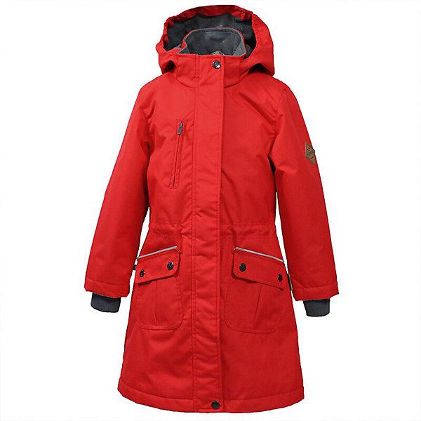 Куртка MOONI Huppa для девочекДемисезонные куртки<br>Характеристики товара:<br><br>• цвет: красный; <br>• модель: Mooni;<br>• состав: 100% полиэстер;<br>• подкладка: 100% полиэстер, тафта;<br>• утеплитель: 100% полиэстер, 100 гр.;<br>• сезон: демисезон;<br>• температурный режим: от -5 до +10С;<br>• водонепроницаемость: 10000 мм ;<br>• воздухопроницаемость:10000 г/м2/24ч;<br>• застежка: молния с защитой подбородка;<br>• съёмный капюшон на кнопках;<br>• кромка капюшона на резинке;<br>• плечевые швы проклеены;<br>• внутренние вязаные эластичные манжеты;<br>• эластичный шнур с фиксатором;<br>• приталенный крой;<br>• два передних кармана;<br>• нагрудный карман на молнии;<br>• светоотражающие детали;<br>• страна бренда: Эстония;<br>• страна изготовитель: Эстония.<br><br>Утепленная куртка-парка на молнии обеспечит детям тепло и комфорт. Куртка с капюшоном сделана из материала, отталкивающего воду, дополнена подкладкой из тафты и утеплителем, поэтому изделие идеально подходит для межсезонья. <br><br>Материал изделия - с мембранной технологией: защищает от влаги и ветра, он легко выводит лишнюю влагу наружу. Куртка дополнена внутренними вязаными эластичными манжетами. Капюшон легко отстегивается при помощи кнопок. Имеется два кармана спереди и нагрудный карман на молнии.<br><br>Куртку-парку MOONI от бренда Huppa (Хуппа) можно купить в нашем интернет-магазине.<br>Ширина мм: 356; Глубина мм: 10; Высота мм: 245; Вес г: 519; Цвет: красный; Возраст от месяцев: 60; Возраст до месяцев: 72; Пол: Женский; Возраст: Детский; Размер: 116,164,158,152,146,140,134,128,122; SKU: 7570796;