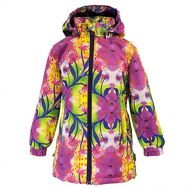 Куртка JUNE Huppa для девочекВерхняя одежда<br>Характеристики товара:<br><br>• цвет: фуксия принт; <br>• модель: June;<br>• состав: 100% полиэстер;<br>• подкладка: 100% полиэстер, тафта;<br>• утеплитель: 100% полиэстер, 100 гр.;<br>• сезон: демисезон;<br>• температурный режим: от -5 до +10С;<br>• водонепроницаемость: 10000 мм ;<br>• воздухопроницаемость:10000 г/м2/24ч;<br>• застежка: молния с защитой подбородка;<br>• съёмный капюшон на кнопках;<br>• кромка капюшона на резинке;<br>• мягкие эластичные манжеты;<br>• талия на спине на резинке;<br>• приталенный крой;<br>• два кармана на молнии;<br>• светоотражающие детали;<br>• страна бренда: Эстония;<br>• страна изготовитель: Эстония.<br><br>Утепленная куртка на молнии обеспечит детям тепло и комфорт. Куртка с капюшоном сделана из материала, отталкивающего воду, дополнена подкладкой из тафты и утеплителем, поэтому изделие идеально подходит для межсезонья. <br><br>Материал изделия - с мембранной технологией: защищает от влаги и ветра, он легко выводит лишнюю влагу наружу. Куртка дополнена мягкими эластичными манжетами. Капюшон легко отстегивается при помощи кнопок. Имеется два кармана на молнии.<br><br>Куртку JUNE от бренда Huppa (Хуппа) можно купить в нашем интернет-магазине.<br>Ширина мм: 356; Глубина мм: 10; Высота мм: 245; Вес г: 519; Цвет: розовый; Возраст от месяцев: 18; Возраст до месяцев: 24; Пол: Женский; Возраст: Детский; Размер: 92,152,146,140,134,128,122,104,116,110,98; SKU: 7570836;