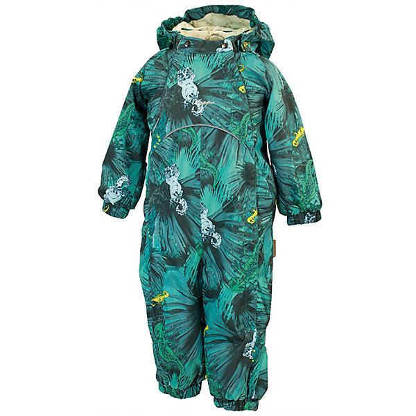 Комбинезон GOLDEN HuppaВерхняя одежда<br>Характеристики товара:<br><br>• цвет: тёмно-зелёный принт; <br>• модель: Golden;<br>• состав: 100% полиэстер;<br>• подкладка: 100% хлопок, фланель;<br>• утеплитель: 100% полиэстер, 100 гр.;<br>• сезон: демисезон;<br>• температурный режим: от -5 до +10С;<br>• водонепроницаемость: 5000 мм ;<br>• воздухопроницаемость: 5000 г/м2/24ч;<br>• ветронепродуваемый;<br>• застежка: двойная молния и кнопки на воротнике;<br>• сидельный шов и боковые швы проклеены;<br>• съёмный капюшон на кнопках;<br>• эластичная резинка по кромке капюшона;<br>• манжеты рукавов на мягкой эластичной резинке;<br>• манжеты с отворотом у размеров 62-80;<br>• манжеты брюк на резинке;<br>• съемные эластичные штрипки;<br>• без внутренних швов;<br>• светоотражающие элементы;<br>• страна бренда: Эстония;<br>• страна изготовитель: Эстония.<br><br>Утепленный комбинезон сделан из материала, отталкивающего воду, дополнен подкладкой из тафты и утеплителем, поэтому изделие идеально подходит для межсезонья. Материал изделия - с мембранной технологией: защищает от влаги и ветра, ветронепродуваемый. Демисезонный комбинезон застёгивается на две молнии и кнопки на воротнике, манжеты у комбинезона с отворотами в размерах с 62 по 80. Комбинезон с отстёгивающимся капюшоном на кнопках, имеются съёмные эластичные штрипки.<br><br>Комбинезон GOLDEN от бренда Huppa (Хуппа) можно купить в нашем интернет-магазине.<br>Ширина мм: 356; Глубина мм: 10; Высота мм: 245; Вес г: 519; Цвет: бирюзовый; Возраст от месяцев: 2; Возраст до месяцев: 5; Пол: Унисекс; Возраст: Детский; Размер: 62,86,80,74,68; SKU: 7571260;