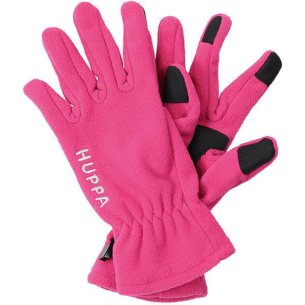 Huppa Перчатки AAMU Huppa перчатки без пальцев шерстяные с рисунком бордо