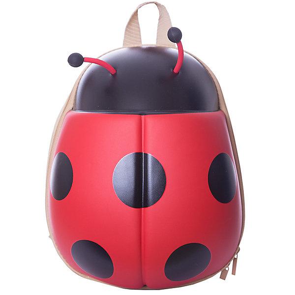 Рюкзак Vitacci для девочкиАксессуары<br>Характеристики товара:<br><br>• цвет: красный, черный;<br>• внешний материал: пластик, текстиль;<br>• внутренний материал: текстиль;<br>• фурнитура: металл;<br>• тип застежки: молния;<br>• модель: фактурный;<br>• особенности: в виде игрушки;<br>• количество внутренних карманов: 2;<br>• количество отделений: 1;<br>• упаковка: пакет;<br>• страна бренда: Италия.<br><br>Детский рюкзак Vitacci выполнен из качественных  материалов,безвредных для детского здоровья. Главной изюминкой этой модели является его форма, выполненная в виде игрушки - очаровательной божьей коровки, что неприменно понравится вашей малышке. Эта божья коровка станет  верным спутником вашего ребенка на короткие прогулки и длительные путешествия.<br><br>Вместительный и легкий рюкзак оснащен удобными лямками, регулируемыми по длине. Рюкзак закрывается на молнию. Внутри расположено главное отделение, которое содержит один небольшой карман на молнии и один открытый накладной карман для мелочей. Рюкзак хорошо держит форму и не деформируется.<br><br>Детский рюкзак Vitacci можно купить в нашем интернет-магазине.<br>Ширина мм: 170; Глубина мм: 157; Высота мм: 67; Вес г: 117; Цвет: красный; Возраст от месяцев: 48; Возраст до месяцев: 144; Пол: Женский; Возраст: Детский; Размер: one size; SKU: 7582287;